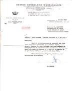 CONGO  - 1967 - TRES BELLE LETTRE RECOMMANDEE AGENCE CONGOLAISE D'ASSURANCES A POINTE NOIRE - Kongo - Brazzaville