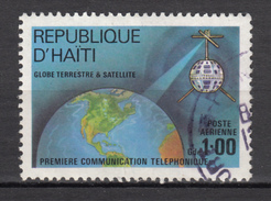 ##5, Haïti, Haitia, Télécom, Terre, Earth, Téléphone, Satellite, Espace, Space, Première Communication, Téléphonique - Haití