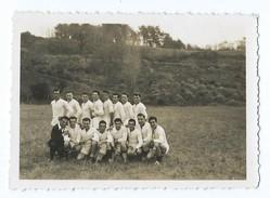 2510 - Photo Originale Rugby XV Union A Identifier - Peut être Du Lot Et Garonne Maillot Blanc - Rugby