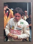 Cartolina G. Villeneuve, Sponsor Giacobazzi, Con Annullo Omaggio A Gilles Villeneuve Imola (BO) 16-5-1992 - Grand Prix / F1