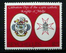 SEYCHELLES #601.  5r, Coptic Catholic Knights Of Malta Celebration Day.  MNH (**) - Seychelles (1976-...)