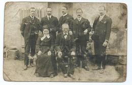 2511 - Carte Postale Photo Famille DECHERY Faubourg Du Temple Paris Pour Louroux Hodement Allier 03 - Genealogy