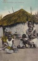 Curacao Choza Curazolena I Sus Moradores Typical Native Family - Curaçao
