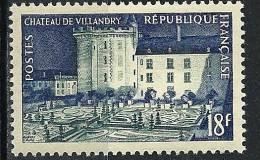 "Yt 995 "" Chateau De Villandry "" 1954 Neuf *"