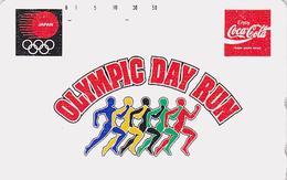 Télécarte Japon / 110-011 - COCA COLA / Jeux Olympiques - Olympic Games Sport Japan Phonecard Telefonkarte - 2557 - Giappone