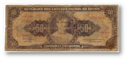 BRASIL - 5 CENTAVOS On 50 CRUZEIROS ND ( 1967 ) - P 184.b - Sign. 15 - Serie 1413.ª - Estampa 2A - Princesa Isabel - Brasil
