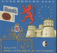 BLOC CNEP 2003 - SALON D'AUTOMNE - COTE 13,00€ BL88 - Sheetlets