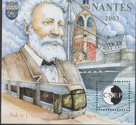 BLOC CNEP 2003 - SALON DE NANTES - COTE 13,00€ BL87 - Sheetlets