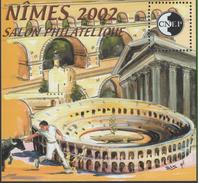 BLOC CNEP 2002 - SALON DE NIMES - COTE 13,00€ BL85 - Sheetlets