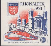 BLOC CNEP 1981 - RHONALPEX - COTE 10,00€ BL83 - Sheetlets