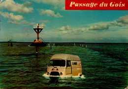 ILE DE NOIRMOUTIER...PASSAGE DU  GOIS    AVEC CAMIONETTE.....CPM - Passenger Cars