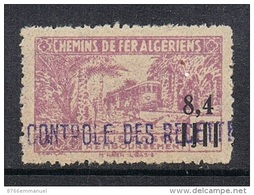 ALGERIE COLIS POSTAL N°138 N* - Paketmarken