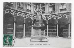 (RECTO / VERSO) LILLE - N° 3 - LA COUR DE LA BOURSE - BEAU CACHET - Lille