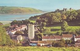 LLANSTEPHAN - VIEW FROM THE HILLS - Denbighshire