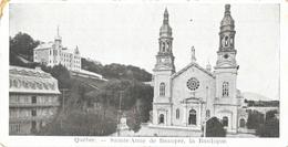 Québec - Saint-Anne De Beaupré, La Basilique - Mini Carte (7 X 14 Cm) Non Circulée - Ste. Anne De Beaupré