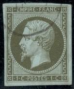 France Yvert 11a TB Sans Défaut Cote EUR 90  (numéro Du Lot 19C) - 1853-1860 Napoléon III