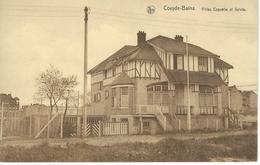 COXYDE - BAINS : Villas Coppelia Et Sylvia - RARE VARIANTE - Koksijde