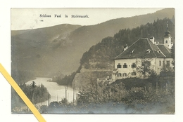 AK Schloss Faal - Gelaufen 1912 - Slovénie