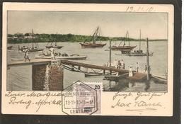 Mocambique.Lourenco Marques. Harbour-Hafen-Port. Top C.a.d !!! 1910 - Mozambique