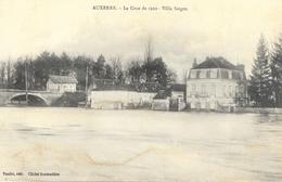 Auxerre - La Crue De 1910 - Villa Saïgon - Edition Toulot - Carte Non Circulée - Overstromingen