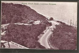 Mocambique. Lourenco Marques. Polana Beach Road-Autobus. MIXED FRANKING - Mozambique