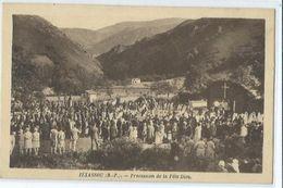 Itxassou Procession De La Fete De Dieu - Itxassou