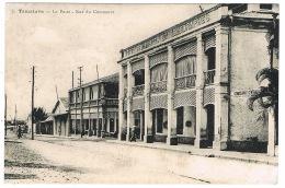 RB 1139 - Early Postcard - Tamatave Toamasina Post & Telegraph Office - Madagascar Malagasy - Madagascar