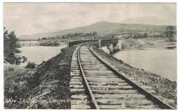 RB 1139 - Early Postcard - New J.R.C. Railway Bridge - Georges River Quebec Canada - Quebec
