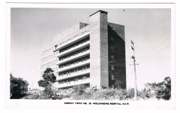 RB 1139 - Real Photo Postcard - Wollongong Hospital - New South Wales Australia - Wollongong