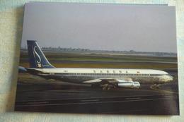 B 707   SABENA   OO SJA  NEW YORK AIRPORT 1965 - 1946-....: Moderne
