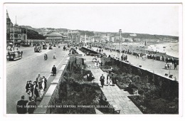 RB 1140 - Postcard - Gardens With Central & Harris Promenade Douglas Isle Of Man - Isle Of Man