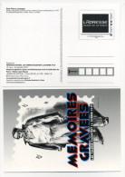 MÉMOIRES GRAVÉES - Prêts-à-poster:Stamped On Demand & Semi-official Overprinting (1995-...)