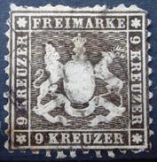 WURTEMBERG                 N° 28a                  OBLITERE - Wurttemberg