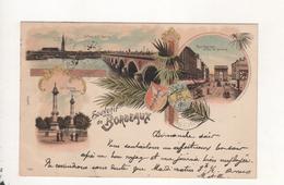 Souvenir De Bordeaux Carte Precurseur 1897 - Bordeaux