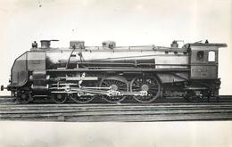 LOCOMOTIVE N°3630 PO Orléans (ancien Retirage Photo,format Carte Ancienne) - Trains