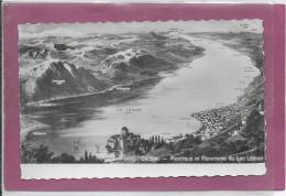 CHILLON- MONTREUX Et Panorama Du Lac Leman - VD Waadt