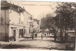 CPA Castel Durban Avenue De Foix 09 Ariège - Frankreich
