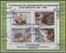 HONDURAS 2002 HB-68 USADO - Honduras