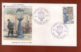 1 Enveloppe    - Premier Jour -   Journee Du Timbre 1978 St Paul Les Dax - FDC