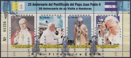 HONDURAS 2003 Nº A 1155/58 (EN BLOQUE) USADO - Honduras