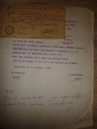 "Impot Frêt Sac Farine Maiseries Centrales DOMPIERRE BRESBE Transport Bateau ""ESMERALDA"" Marinier BOURY 1929 Chambilly - France"