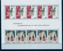 """Monaco Bloc YT 19 """" Europa : Fête Des Rameaux """" 1981 Neuf ** - Blocs"""