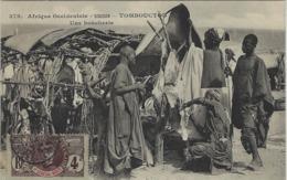 A O F- SOUDAN - TOMBOUCTOU  - Une Boucherie  -  Ed. Fortier ? - Sudan