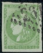 """France Yvert 42B TB Signé """"Calves"""" Sans Défaut Cote EUR 180  (numéro Du Lot 41G) - 1870 Emisión De Bordeaux"""