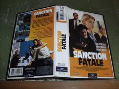 """Rare Film : """" Sanction Fatale """" - Policiers"""