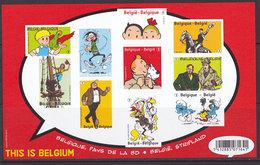 GCD 10 ( Représentation Du BL 201 ) Non Numéroté  ND  BD Belge  This Is Belgium - Blocks & Sheetlets 1962-....