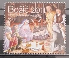 Croatia, 2011, Mi: 1010 (MNH) - Weihnachten