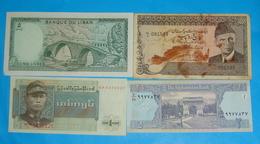 ASIA 4 BANKNOTES, UNC. VF. - Billetes