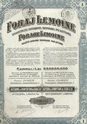 Foraj Lemoine - 1916 - Actions & Titres