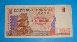 ZIMBABWE 5 DOLLARS 1997 - Zimbabwe